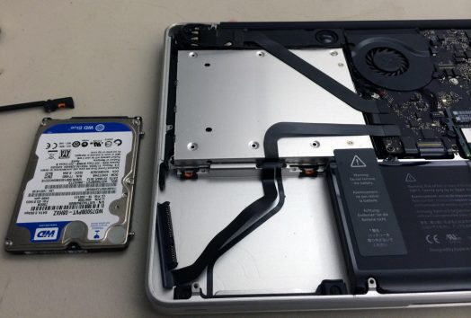 MacBook Pro Hard Drive Data Recovery